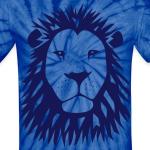 lion tiger cat king animal kingdom africa predator simba strong hunter safari wild wildcat bobcat panther cougar T-Shirts - Unisex Tie Dye T-Shirt