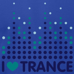 I Love Trance Men's T-shirts - Men's T-Shirt by American Apparel