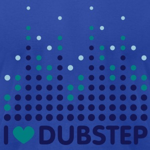 I Love Dubstep Men's T-shirts - Men's T-Shirt by American Apparel
