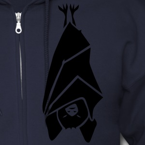 bat vampire batmen sleep sleeper dracula wings halloween witch spider bats Zip Hoodies/Jackets - Men's Zip Hoodie