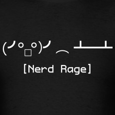 Nerd Rage Table Flip (Shirt)