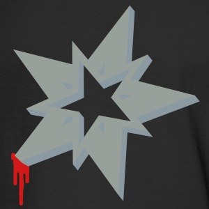 A ninja Christmas Star Long Sleeve Shirts - Men's Long Sleeve T-Shirt