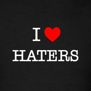 I Heart Haters - white T-Shirts - Men's T-Shirt