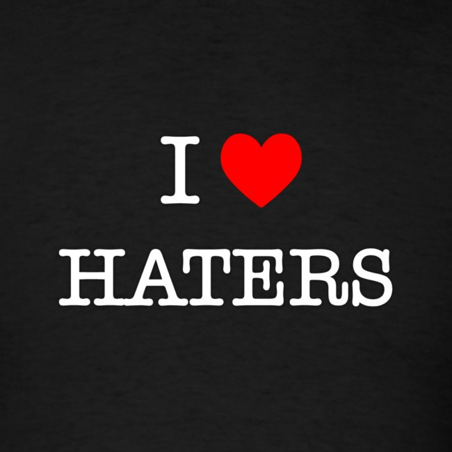 I Heart Haters (White)