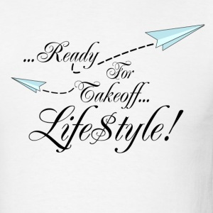 Simple Ready For Takeoff Lifestyle T-Shirts - Men's T-Shirt