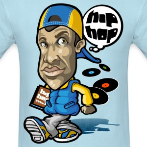 DJ think hip hop T-Shirts - Men's T-Shirt
