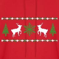 Design ~ Ugly Christmas Sweater Hoodie