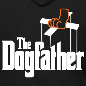The Dogfather! Zip Hoodies/Jackets - Men's Zip Hoodie