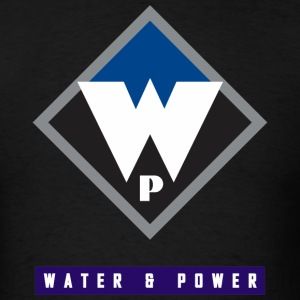 Water and Power V1 - Men's T-Shirt