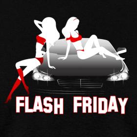 Design ~ Flash Friday Mens Tee