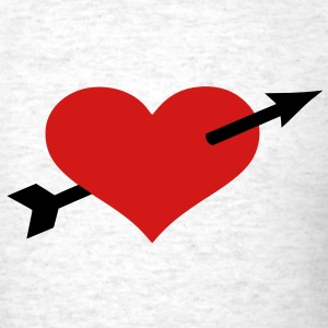 Heart arrow T-Shirts - Men's T-Shirt