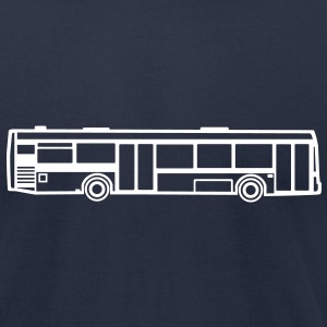 Bus T-Shirts - Men's T-Shirt by American Apparel