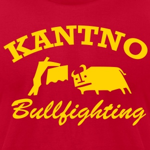 Kantno Bullfighter - Men's T-Shirt by American Apparel