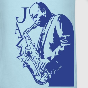 Saxophone player flex T-Shirts - Men's T-Shirt