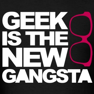 Geek Gangsta T-Shirts - Men's T-Shirt