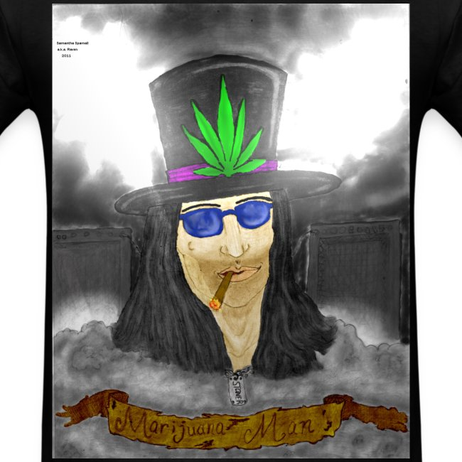 Marijuana Man by @dankraven420