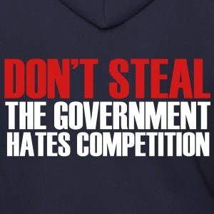 Don't Steal! - Men's Zip Hoodie