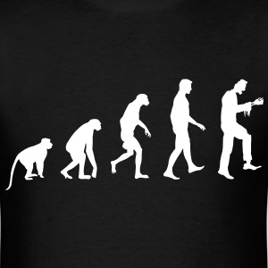 Zombie Evolution - Zombie T-Shirt - Spreadshirt  - Men's T-Shirt