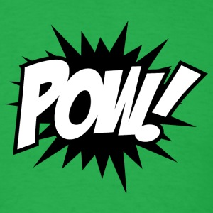 POW Comic Book T-Shirt - Men's T-Shirt