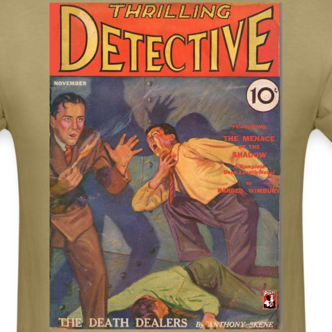 Thrilling Detective Pulp First Issue November 1931
