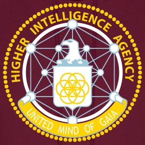 Higher Intelligence Agency Men's Hoodie - Men's Hoodie