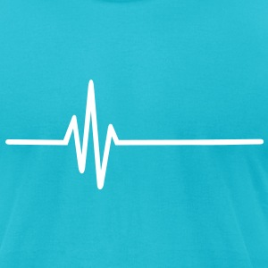 Frequency T-Shirts - Men's T-Shirt by American Apparel