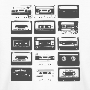 Tape Cassette tee - Kids' Long Sleeve T-Shirt