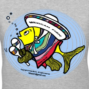 Mexican Fish - Women's V-Neck T-Shirt