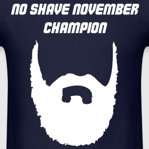 No Shave November Champion (Shirt) - Men's T-Shirt