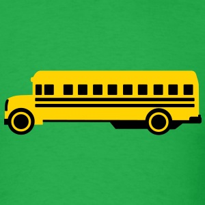 School bus T-Shirts - Men's T-Shirt