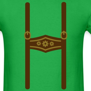 Leather trousers Oktoberfest T-Shirts - Men's T-Shirt