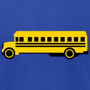 School bus T-Shirts - Men's T-Shirt by American Apparel