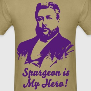 Spurgeon is my hero! - Men's T-Shirt