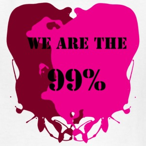 WE ARE THE 99% - Occupy Movement - Kids' T-Shirt