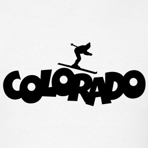 Colorado Skiing T-Shirt - Men's T-Shirt