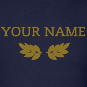 Winner with your own phrase or name - Men's T-Shirt