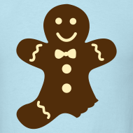 Design ~ Partially Eaten Gingerbread Man