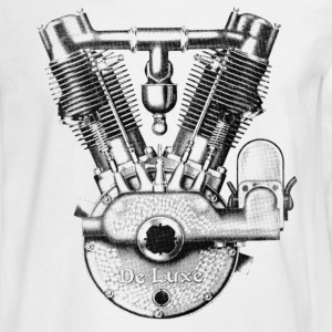 1915 Spacke DeLuxe V-Twin Long Sleeve T-shirt - Men's Long Sleeve T-Shirt