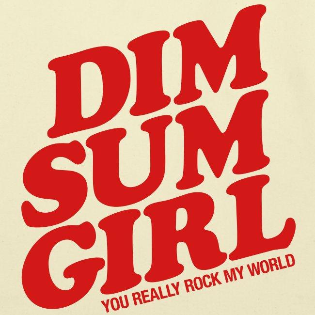 Dim Sum Girl Canvas Tote