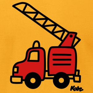 Fire Truck (c) T-Shirts - Men's T-Shirt by American Apparel