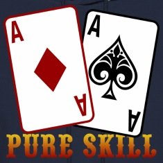 Poker - Pure Skill Hoodies