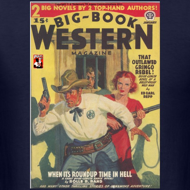 Big Book Western Pulp January 1940