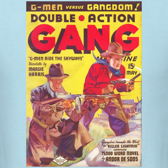 Souble Action Gang Pulp May 1936 1st Issue