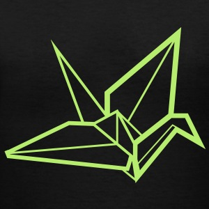 Paper Crane - Women's V-Neck T-Shirt