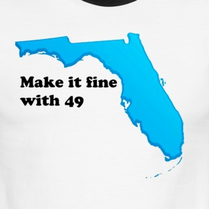 Make it fine with 49 - Men's Ringer T-Shirt