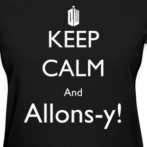 Allons-y! - Women's T-Shirt