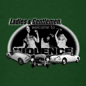 welcome to violence - Men's T-Shirt