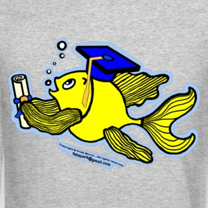 Graduation Fish Graduate - Crewneck Sweatshirt