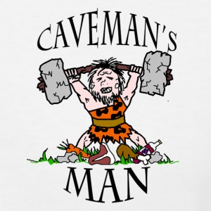 Woman's Caveman's Man T-Shirt - Women's V-Neck T-Shirt