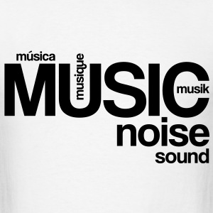 Music Noise Sound T-Shirts - Men's T-Shirt
